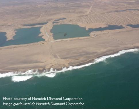 Project Namdeb - Shoreline Accretion