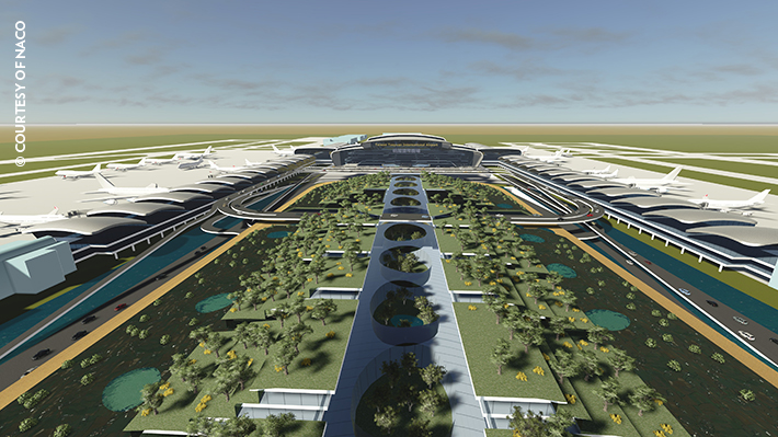 Taoyuan international airport terminal 3 taiwan Airport planning and design course