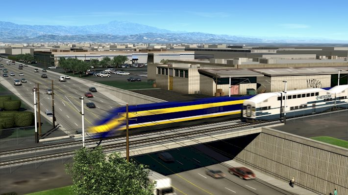 California HSR - Anaheim