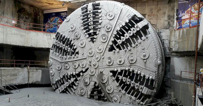 Boring machine - Eurasia tunnel